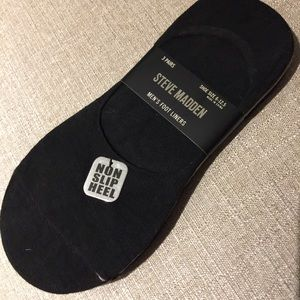 NWT Steve Madden 3 Pr Foot Liners